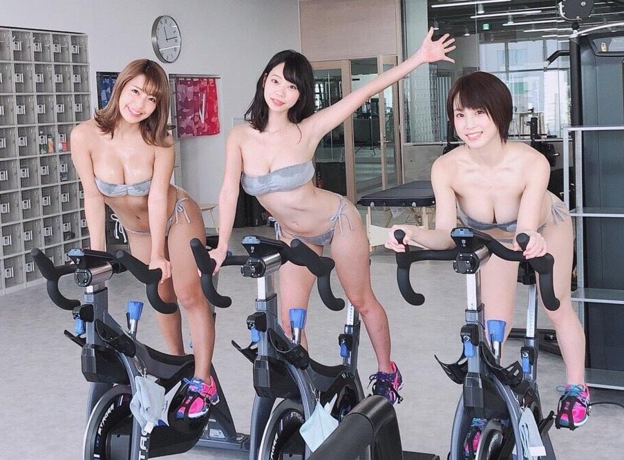 青山ひかる 橋本梨菜 犬童美乃梨 週プレ7号 SEXYビキニでのハードトレーニンググラビア 画像