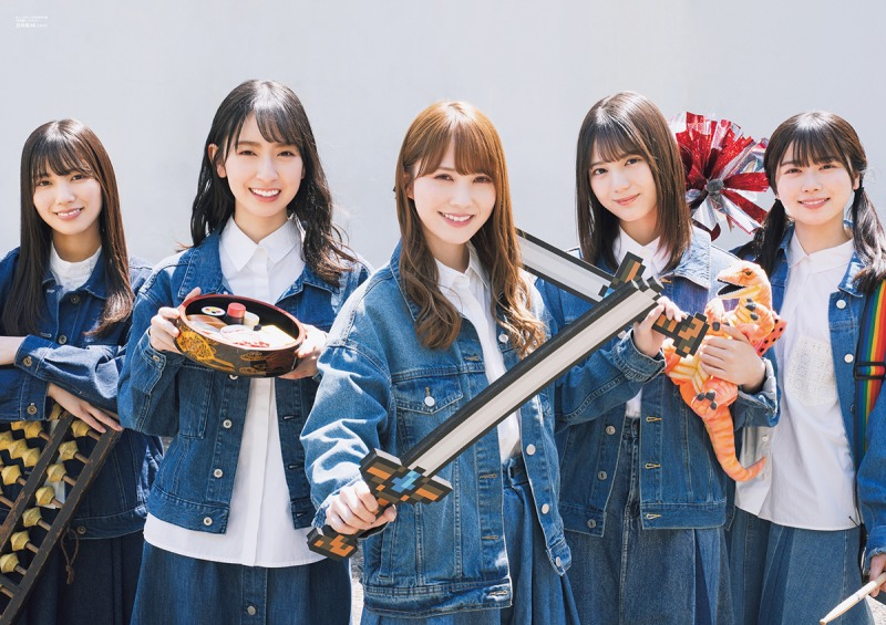 日向坂46・加藤、金村、河田、小坂、丹生の5人が雑誌「B.L.T.」に登場!「日向坂防衛隊」を結成し皆を笑顔に!