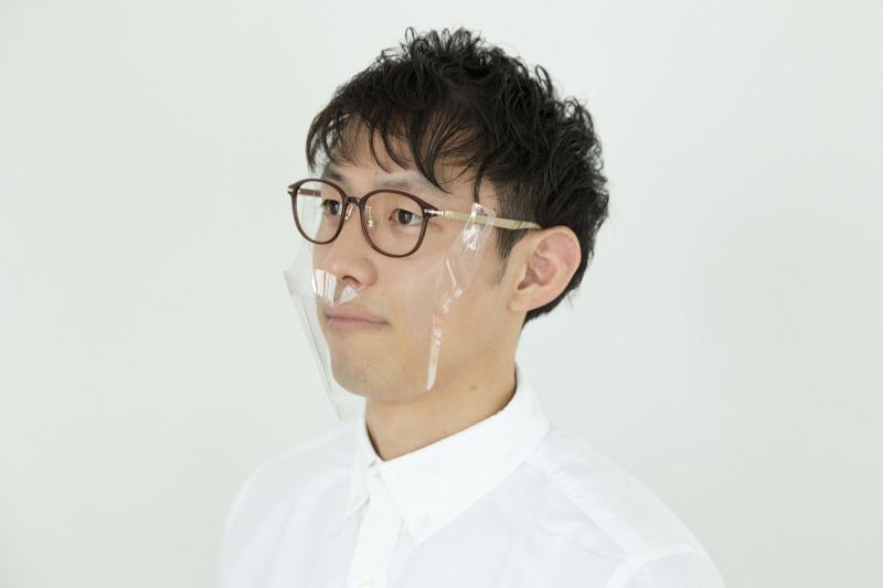 Zoff「メガネ専用立体透明マスク」